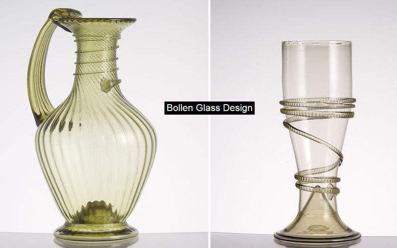 BOLLEN GLASS Pitcher Bottles & Carafes Glassware  |