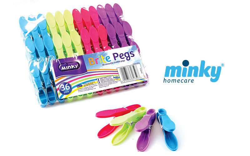Minky Homecare Clothes peg Towel driers Bathroom Accessories and Fixtures  |