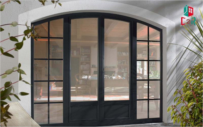 C2r menuiserie Bay window French windows Doors and Windows  |