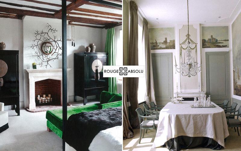 ROUGE ABSOLU Interior decoration plan Interior decoration plans Houses  |