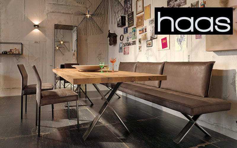 Haas Rectangular dining table Dining tables Tables and Misc. Dining room | Design Contemporary