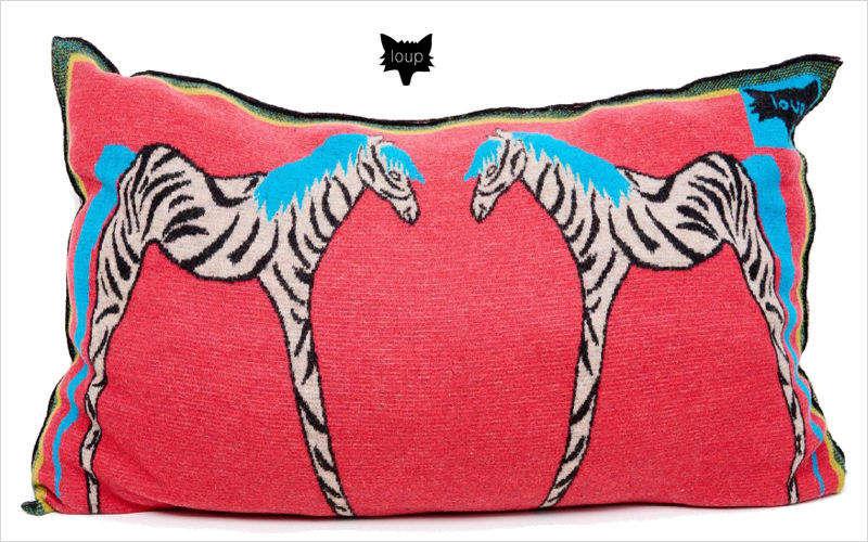 LOUP MAISON Rectangular cushion Pillows & pillow-cases Household Linen  |
