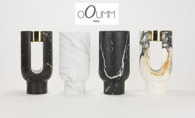 OOUMM Candle jar Candles and candle-holders Decorative Items  |