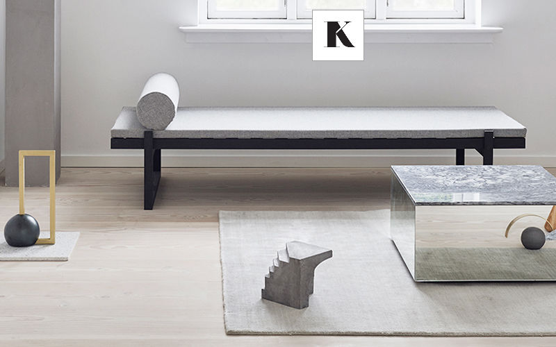 KRISTINA DAM STUDIO Square coffee table Low tables Tables and Misc.  |