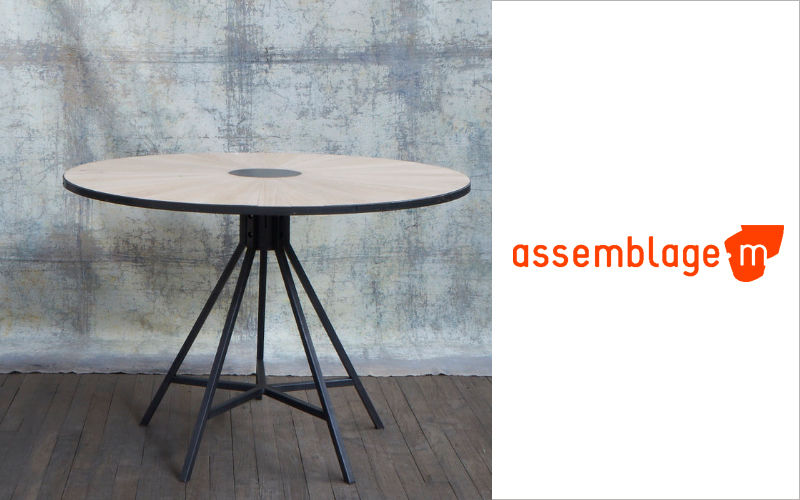 ASSEMBLAGE M Round diner table Dining tables Tables and Misc.  |