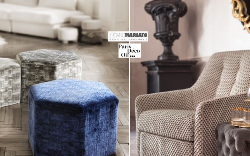 LUCIANO MARCATO Furniture fabric Furnishing fabrics Curtains Fabrics Trimmings  |