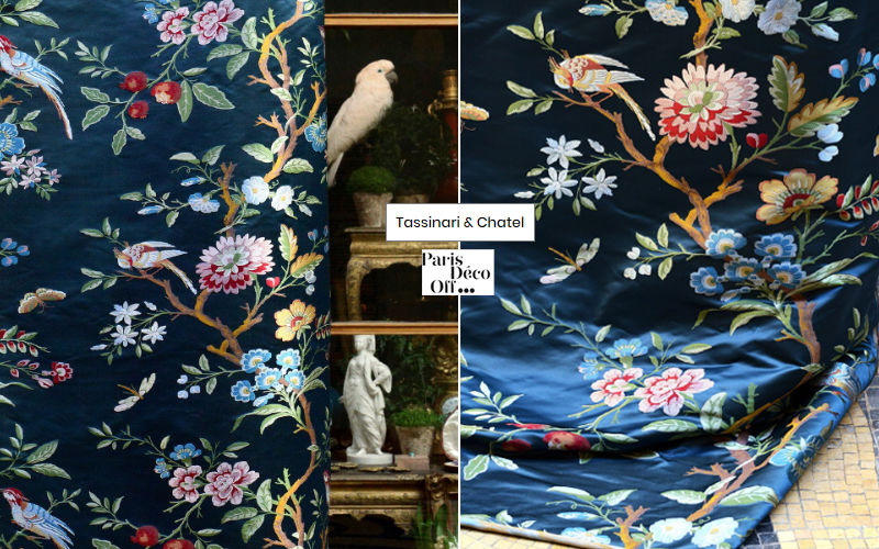 Tassinari & Chatel Half-damask Furnishing fabrics Curtains Fabrics Trimmings  |