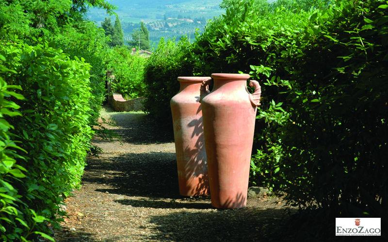 Enzo Zago Jar Flowerpots Garden Pots  |