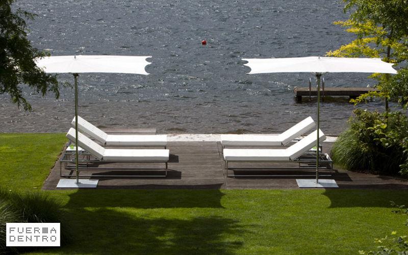 FUERADENTRO Sun lounger Garden chaises longues Garden Furniture  |
