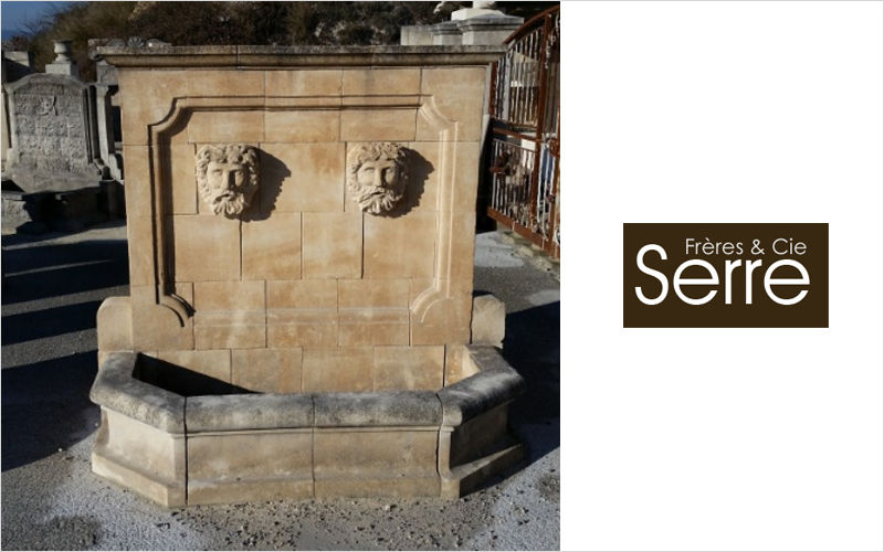 Serre Freres Wall fountain Fountains Garden Pots  |
