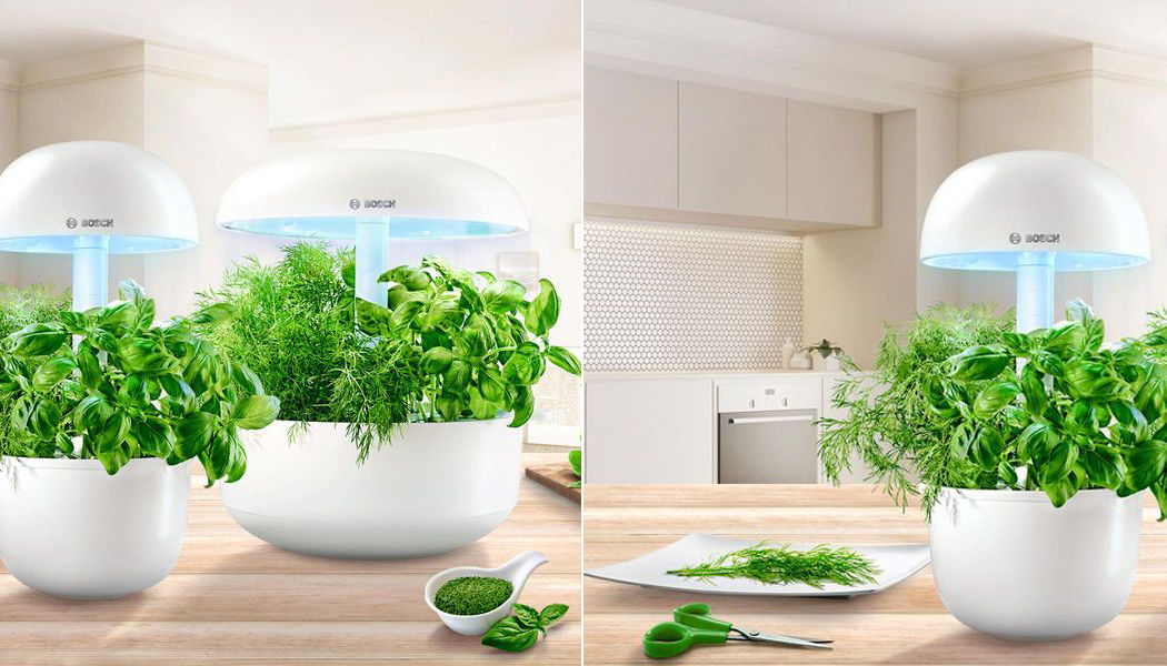 Bosch Connected interior garden Various home automation accessories Home automation Kitchen | Design Contemporary