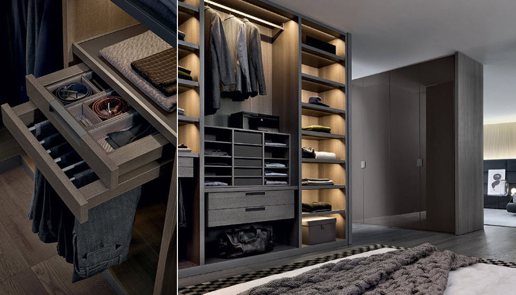 Poliform Dressing room Dressing rooms Wardrobe and Accessories Bedroom | Design Contemporary