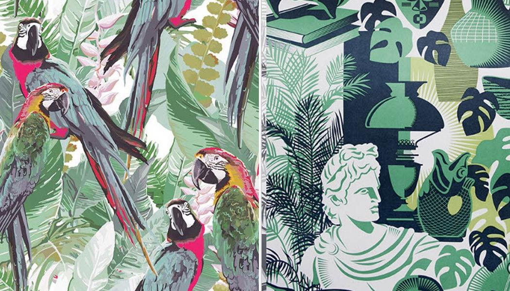 Au Fil Des Couleurs Panoramic wallpaper Wallpaper Walls & Ceilings   