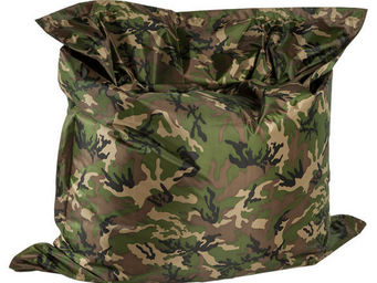 Alterego-Design - pouf g�ant 'lazy' army 180x140cm - Floor Cushion