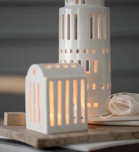 Kahler - urbania lighthouse - Christmas Candle Jar