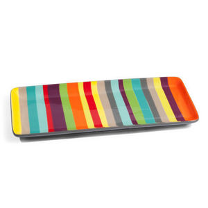 Rectangular sandwich tray