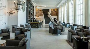 Agence Nuel / Ocre Bleu Tip : hotel hall