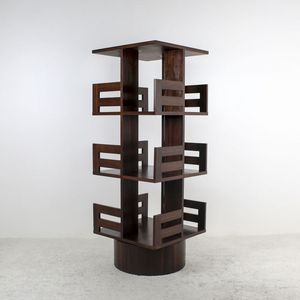 Monolithe Edition Revolving bookcase