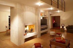 Jean Magnan Cheminees Open fireplace