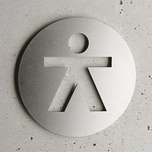 Atelier Number Studio House plaque