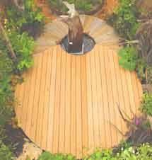 Les Menuisiers Du Jardin Terrace floor