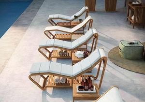 Garden chaises longues