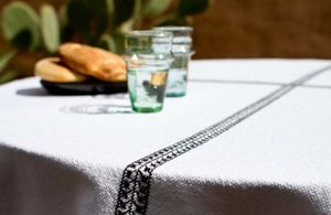 LA MAISON BAHIRA -  - Rectangular Tablecloth