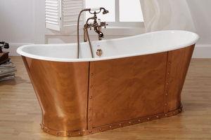 BLEU PROVENCE - eiffel - Freestanding Bathtub