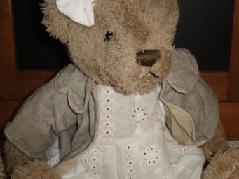 au petit coeur d'amour -  - Collectible Bear