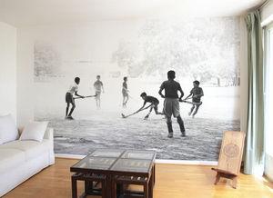 Ohmywall - papier peint droit au but - Panoramic Wallpaper