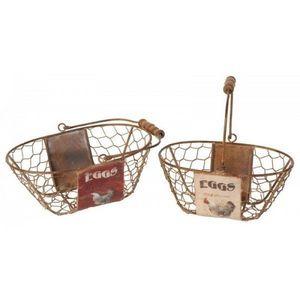 AUTREFOIS -  - Wire Egg Basket