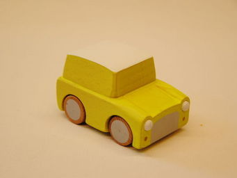 KUKKIA - k001-yel-kuruma - Wooden Toy