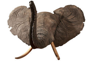 MASAI GALLERY - cape d'éléphant d'afrique en polyester - Cape Taxidermy
