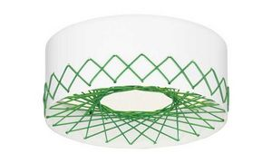Zero - cord plafonnier vert - Ceiling Lamp