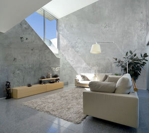 IN CREATION - béton lisse - Panoramic Wallpaper