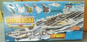 IMAGINE OUTLET - porte avions sonique avec avions de combat métal 7 - Parlour Games