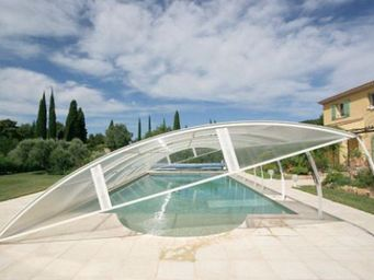 Abrideal -  - Low Removable Pool Enclosure