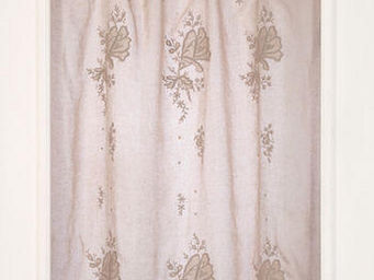 Coquecigrues - rideau brod� les f�es rose poudr� - Ready To Hang Curtain