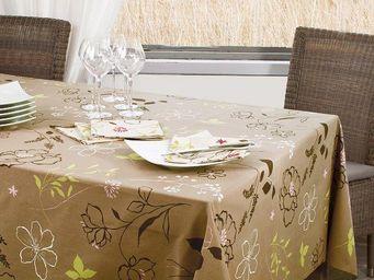 FLEUR DE SOLEIL - camelia - Rectangular Tablecloth