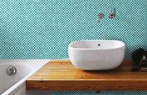 DEMOUR & DEMOUR Mosaïques - mini damier - Mosaic Tile Wall