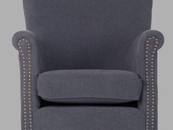 BLANC D'IVOIRE - claude denim - Armchair