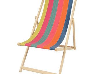 Artiga - chilienne artiga boucau en hêtre massif et coton 5 - Deck Chair