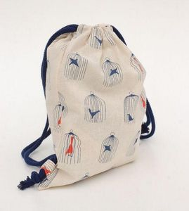 RêVES DE GRENOUILLE - oiseaux - Backpack (children)