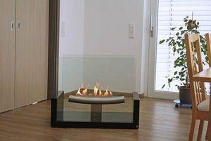 ALFRA FRANCE - excellence mozart - Flueless Burner Fireplace