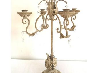 L'HERITIER DU TEMPS - chandelier de table antique - Candelabra