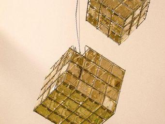 Spiridon - cube- - Hanging Lamp