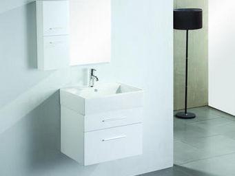 UsiRama.com - meuble salle de bain pas cher mignon 60cm - Bathroom Furniture