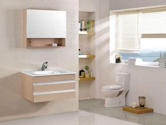 UsiRama.com - meuble salle de bain du bois chicatique 80cm - Bathroom Furniture