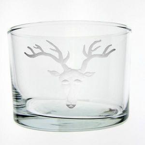 Au Bain Marie - verre droit bastête de cerf - Glass