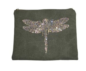 SHOW-ROOM - green dragonfly - Ipad Cover
